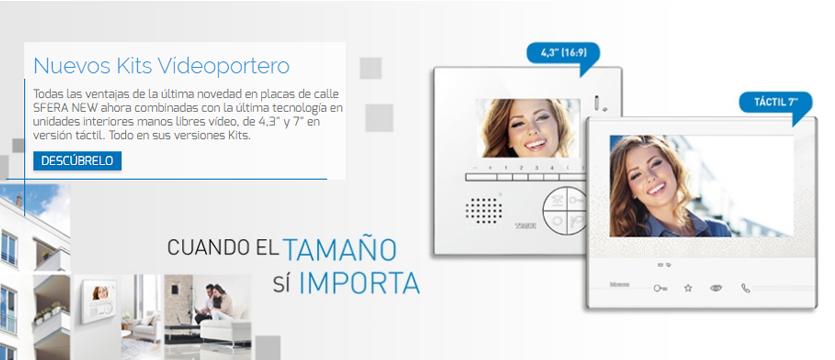 Imagen nuevos kits videoportero Sfera NEW Tegui