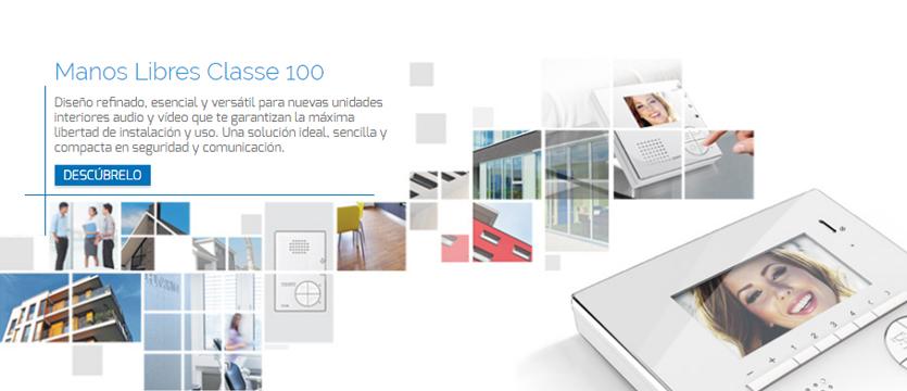 Imagen unidades interiores manos libres Classe 100 Tegui